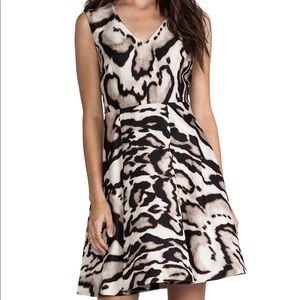 Diane Von Furstenberg Renan Dress In Leopard Bark